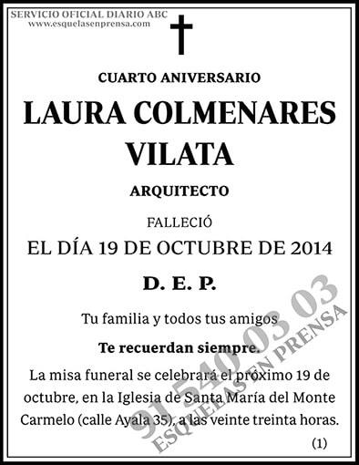Laura Colmenares Vilata
